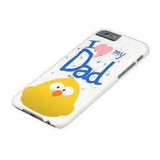 CAPA BARELY THERE PARA iPhone 6 EU AMO MEU PAI