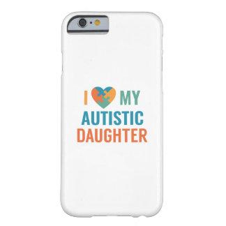 Capa Barely There Para iPhone 6 Eu amo minha filha