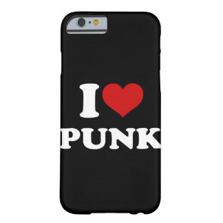 Capa Barely There Para iPhone 6 Eu amo o punk