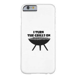 Capa Barely There Para iPhone 6 Eu giro as grades no divertimento do cozinheiro