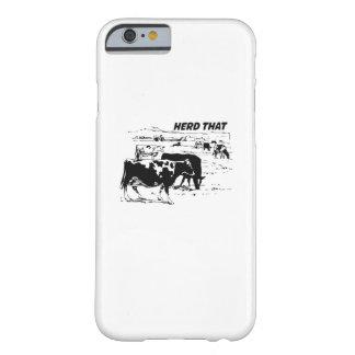 Capa Barely There Para iPhone 6 Eu reuno aquele para o animal de fazenda do amante