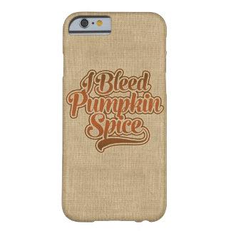 Capa Barely There Para iPhone 6 Eu sangro a especiaria da abóbora
