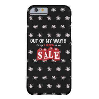 Capa Barely There Para iPhone 6 Excremento na venda (sexta-feira preta)