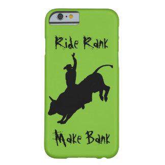 Capa Barely There Para iPhone 6 Exemplo Bucking do grau do passeio do vaqueiro do