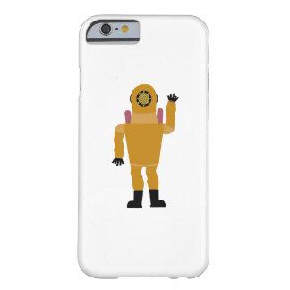 Capa Barely There Para iPhone 6 Exemplo do bandido do mergulhador