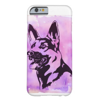 Capa Barely There Para iPhone 6 Exemplo do cão de german shepherd