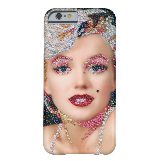 Capa Barely There Para iPhone 6 Exemplo Sequined de Marilyn IPhone 6