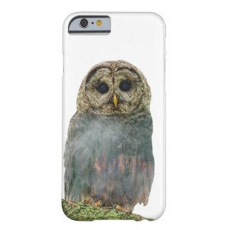 Capa Barely There Para iPhone 6 Exposição dobro da coruja