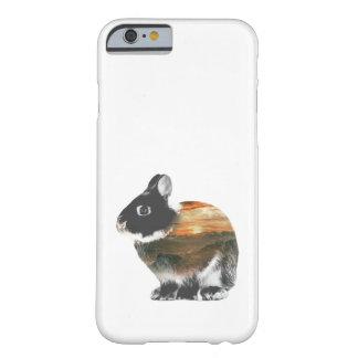 Capa Barely There Para iPhone 6 Exposição dobro do coelho