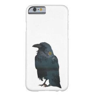 Capa Barely There Para iPhone 6 Exposição dobro do corvo