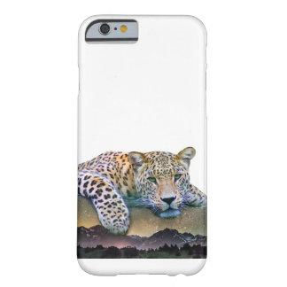 Capa Barely There Para iPhone 6 Exposição dobro do leopardo