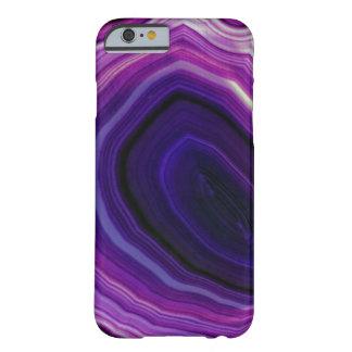 Capa Barely There Para iPhone 6 Falln rodou Geode roxo
