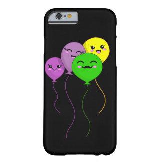 Capa Barely There Para iPhone 6 Família do balão de Kawaii