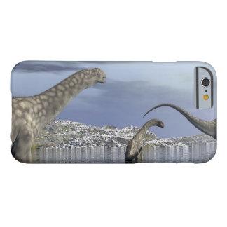 Capa Barely There Para iPhone 6 Família do dinossauro do Argentinosaurus