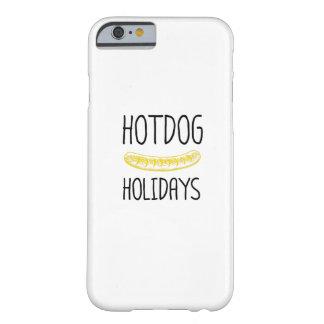 Capa Barely There Para iPhone 6 Família do partido de feriados do Hotdog engraçada