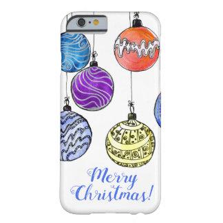 Capa Barely There Para iPhone 6 Feliz Natal
