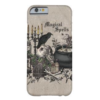 Capa Barely There Para iPhone 6 FERMENTAÇÃO moderna das BRUXAS do Dia das Bruxas