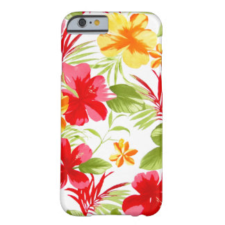 Capa Barely There Para iPhone 6 Festa floral do hibiscus
