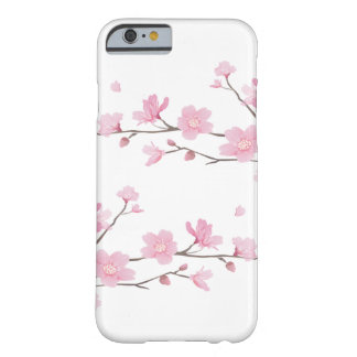 Capa Barely There Para iPhone 6 Flor de cerejeira - fundo transparente