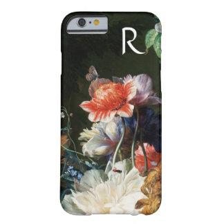 CAPA BARELY THERE PARA iPhone 6 FLORES BRANCAS DAS ANÊMONAS ROSAS VERMELHA,