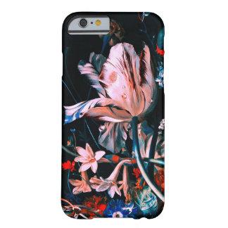 Capa Barely There Para iPhone 6 FLORES COLORIDAS das TULIPAS BRANCAS COR-DE-ROSA