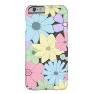 Capa Barely There Para iPhone 6 Flores Pastel bonito