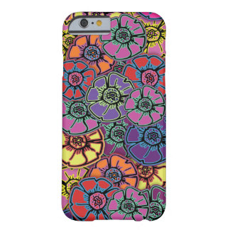 Capa Barely There Para iPhone 6 Flower power #20