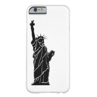 Capa Barely There Para iPhone 6 foto da estátua da liberdade no caso