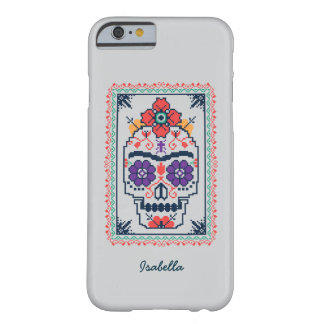 Capa Barely There Para iPhone 6 Frida Kahlo | Calavera