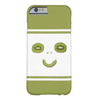 Capa Barely There Para iPhone 6 Fruta de quivi Sorriso-Engraçada