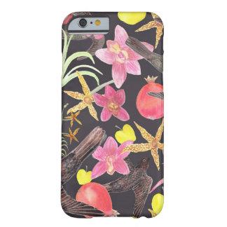 Capa Barely There Para iPhone 6 Frutas e galinha das flores