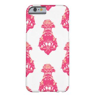 Capa Barely There Para iPhone 6 Fundo cor-de-rosa/salmon do vintage da cor