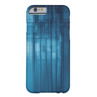 Capa Barely There Para iPhone 6 Fundo do mosaico da tecnologia como uma arte do