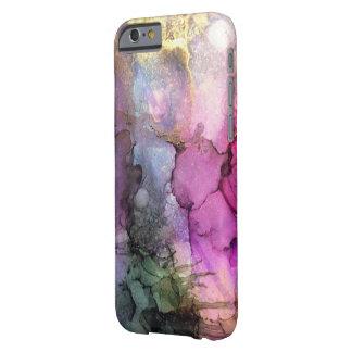 Capa Barely There Para iPhone 6 Galáxia - arte abstrata da tinta