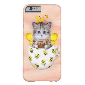 Capa Barely There Para iPhone 6 Gatinho da abelha do mel