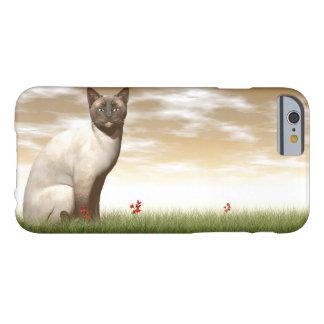 Capa Barely There Para iPhone 6 Gato Siamese