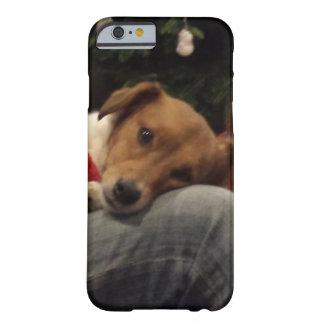 Capa Barely There Para iPhone 6 Gengibre Loving do cão do salvamento
