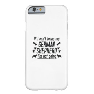 Capa Barely There Para iPhone 6 German shepherd