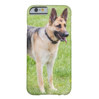 Capa Barely There Para iPhone 6 German shepherd feliz