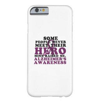 Capa Barely There Para iPhone 6 GIF do apoio da consciência de Alzheimer