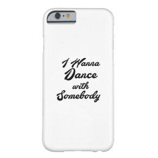 Capa Barely There Para iPhone 6 GIF que da dança eu quero dançar com alguém