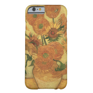 Capa Barely There Para iPhone 6 Girassóis de Vincent van Gogh |, 1889