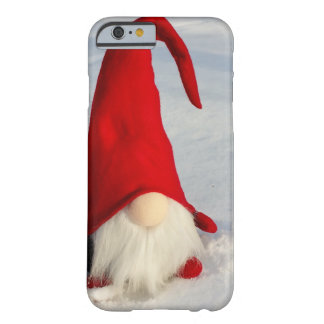 Capa Barely There Para iPhone 6 Gnomo escandinavo do Natal