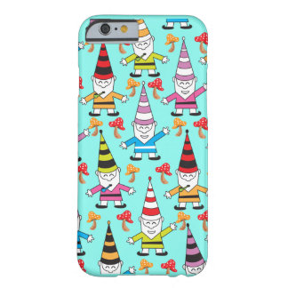 Capa Barely There Para iPhone 6 Gnomos Funky coloridos com toadstools