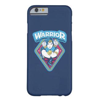 Capa Barely There Para iPhone 6 Gráfico do guerreiro da mulher maravilha