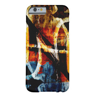 Capa Barely There Para iPhone 6 Grafites abstratos coloridos