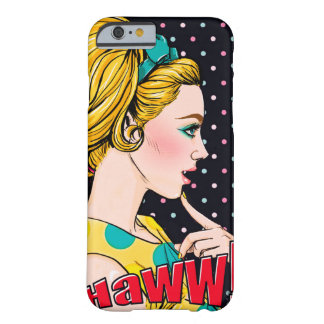Capa Barely There Para iPhone 6 Haww PopArt de Chipkoo