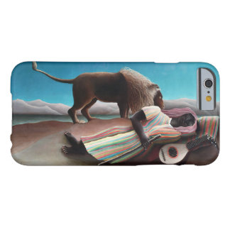 Capa Barely There Para iPhone 6 Henri Rousseau o vintage aciganado do sono
