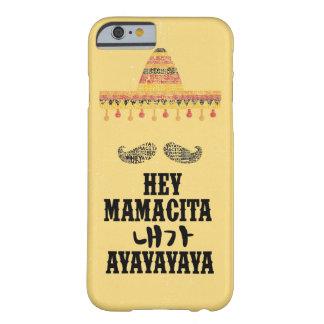 Capa Barely There Para iPhone 6 Hey Mamacita iphone6/6s