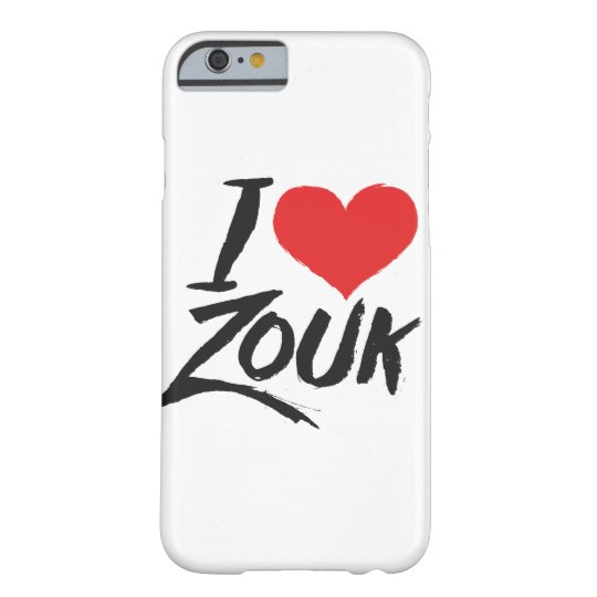 Capa Barely There Para iPhone 6 I love Zouk